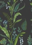 Into The Woods Cembra Charcoal Blue Wallpaper 98545 By Holden